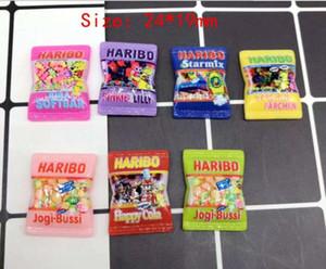 Японский мультфильм моделирование haribo конфеты Каваи Flatback смолы кабошон скрапбукинг Fit телефон заколки для волос DIY аксессуары