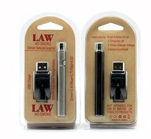 Law vorheizen Batterie Blister Charger Kit 1100mAh PreHeat O Pen Bud Touch-Batterie 510 Gewinde Vorwärmblockbaugruppe Batterie fit CE3 G2 G5 Cartridges