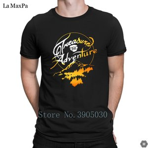Letters Short Sleeve T-Shirt Man Treasure The Adventure Mens T Shirt Clever Tshirt Gents New Style Mens Tee Shirt Graphic