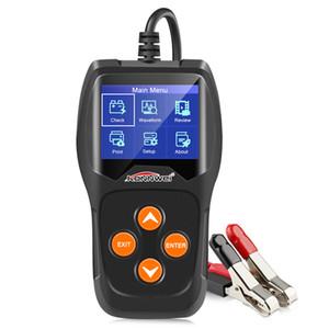 KONNWEI KW600 Analyseur de batterie automatique 100 à 2000CCA Testeur de voiture 12V Écran couleur numérique - Prise en charge du diagnostic de la voiture