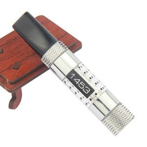 Corea 1453 Clearomizer con Negro obra maestra plana Shap Drip Tip actualizado desde finales maxi 1453 atomizadores justfog vaporizador encaja UGO V