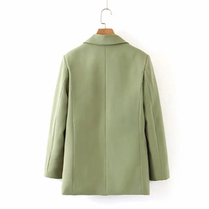 Xl-2236 WOMEN'S Dress New Products Green Suit Jacket