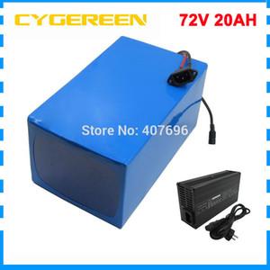 batería de la bici 2400W 72V 20AH 25AH 30AH 35AH 40AH eléctrico batería de iones de litio 3000W 72V 5000MAH 26650 Cell 40A / 50A BMS