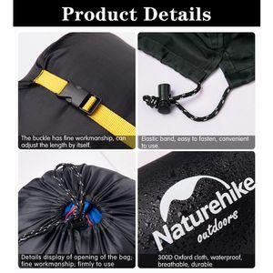 Compression Sleeping Stuff Sac léger et pliable camping en plein air Randonnée de haute qualité Stockage Paquet sommeil Sacs Accessoires