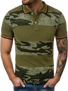 мужчины т рубашки мужчин Военный камуфляж футболка с коротким рукавом сжатия Quick Dry Tee Shirt Streetwaer тенниска мужчин Мужской