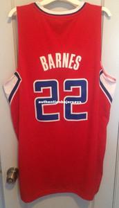 Barato por atacado Matt Barnes Jersey Homens Sewn Red AD # 22 T-shirt colete Costurado Basquete jerseys Ncaa