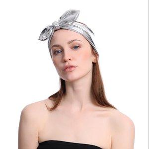 Bowknot Handband Sports Stretch Elastico Yoga Running Fascia per capelli Fascia per il sudore Fascia per lo sport Allenamento Gym Stretch Headwraps