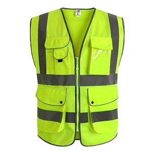 HobbyLane Motorcycle Reflective Vest alta visibilidade Motocross Equitação Off-Road Safety Vest Windbreaker Correndo Jacket Sports