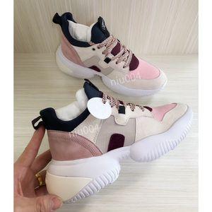 Louis Vuitton LV shoes velocidad Entrenadores zapatillas de deporte de moda de alta calidad de punto de malla de cojín Zapatos Ultra Ligero yx200428 Boot Bottom