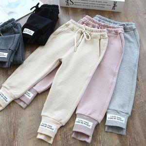 letras meninas varejo casuais calça esporte moletom calcinha calças largas Crianças Designer calças de suor Crianças roupas boutique