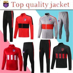 2019 2020 chaqueta de traje de entrenamiento de fútbol JOÃO FÉLIX 2019/20 camiseta de Fútbol LLORENTE chaqueta de chándal de fútbol con cremallera larga JOAO FELIX