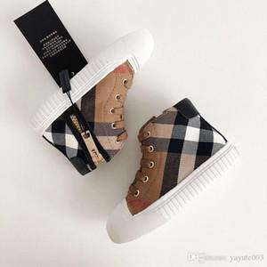 2020 bambini scarpe ragazzi e ragazze di lusso designer scarpe da tennis scarpe casual a quadri di tela traspirante per bambini casuali design di scarpe per bambini scarpe da ginnastica