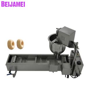 Beijamei New Factory. Máquina para hacer donas de refrigerios. Máquina eléctrica comercial para freír donuts. Hacer donut 110V 220V.