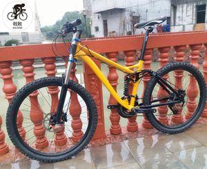 M310 24 속도 자전거 17 인치 AM / XC는 산악 자전거 서스펜션 산악 자전거 26er Kalosse 유압 브레이크
