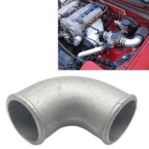 """3.5"""" 89 millimetri Fusioni alluminio gomito da 90 gradi del tubo Turbo Intercooler"""