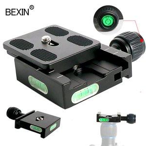 Accessoires Trépied Monopodes BEXIN tête sphérique QR50 adaptateur de montage PU50 RCV tir rapide pince de plaque clip rapide pour