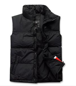 Yepyeni çift yüzü Yüksek Kalite erkek erkekler için Ceket Kabanlar Coat kalın kış spor Vest Aşağı yelek
