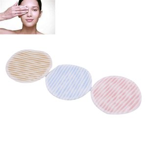 Soft Bamboo Fiber Face Cleaner Fashion Soft Reusable Washable Plush Puff Cloth Pad