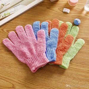 Moisturizing Spa Skin Care Cloth Bath Glove Exfoliating Gloves Cloth Scrubber Face Body 1000pcs lot IC806