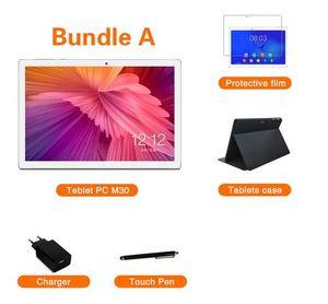 Yeni Teclast M30 10.1 inç Tablet MT6797 X27 Deca çekirdek 2560x1600 2.5 K IPS ekran çift 4G 4 GB RAM 128 GB ROM Android Tablet pc
