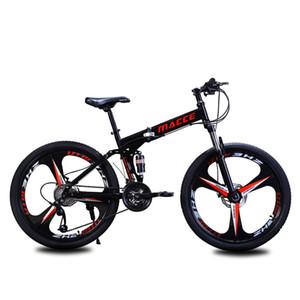 Новое прибытие горный велосипед двойной диск тормоза с регулируемой частотой вращения дорожный велосипед Fat Tire Bike Двойной диск амортизирующие велосипедов