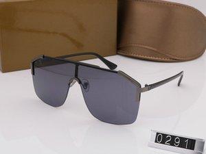 HOT NEW 0291 ALTE QUALITÀ DA DONNA OCCHIALI DA SOLE CON SCATOLE ORIGINALI occhiali da sole polarizzati