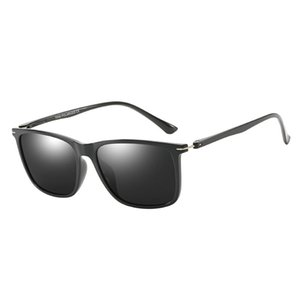 Gafas de sol de New Fashion Hombres de negocios American European Sunglasses HD Gafas HD Polarized High-Fin y Top Hombres polarizados Polarized Driving Sungla DTRU