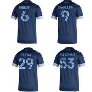 2020 Vancouver Whitecaps INBEOM CAVALLINI REYNA ALI Adnan camisas de futebol homens Camisa de futebol afastado shorts