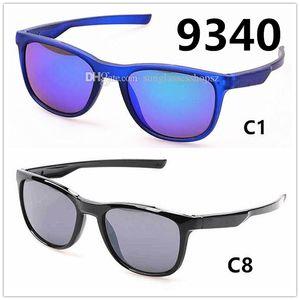 Спортивные велосипедные очки марки Горячие продажи мужчин и женщин спортивные езда солнцезащитные очки с оригинальной коробке 9 цвет по желанию оптом бесплатная доставка