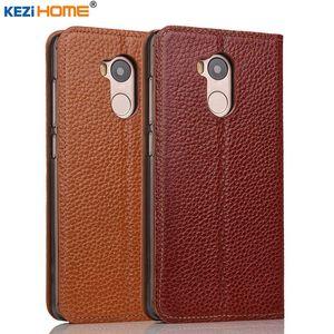 For Xiaomi Redmi 4 pro Case Cover Kezihome Genuine Leather Phone Bag Cover Flip Wallet Coque Case For Xiaomi Redmi 4 Prime