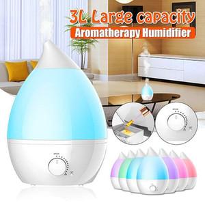 3.4L 25W Olio Essenziale diffusore ad ultrasuoni umidificatore nebbia purificatore 7 cambiamento di colore del LED casa aria condizionata Appliance