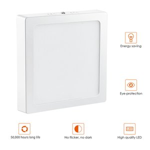 6w surface mounted panel light LED ultra thin ceiling light panel light die cast aluminum anti-fog Ceiling lamp without opening