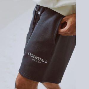 19SS Of Essentials Reflective Shorts Vintage Street Elastic Waist Outdoor Short Pants Sport Loose Casual Shorts HFYMKZ170