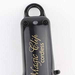 Capelli Clipper portatile di taglio a batteria Black Gold Hair Trimmer macchina professionale Cutter Styling utensili elettrici per gli uomini
