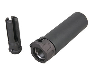 SOCM 2 Series 556 MINI Silen / with 14mm Muzzle الفرامل أطقم بأكسيد الألومنيوم التصنيع باستخدام الحاسب الآلي