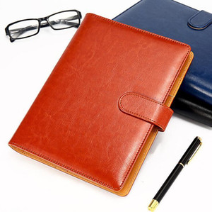 Classic Germany Notebook Business Supply Advanced Leather Cover Agenda Handmade T-notebook Periodical Logo Diary Office Notepad 4pcs