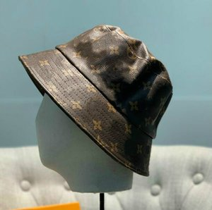 2020 Leder Brief Bucket Hut für Frauen der Männer faltbare Caps Fischer Beach Sun Visor Verkauf Folding Man casquette Bowler Cap