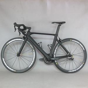 Bicicleta de carretera de carbono diseño FM268 Aero 2019 lleno de carbono bicicleta de carretera completa de bicicletas de carbono de bicicletas ciclismo de carretera con R7000 22 Velocidad Grou