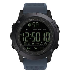 Spovan PR1 iOS / Android relógio inteligente impermeável Sport relógio Barómetro Altímetro Termômetro smartwatch relógio de pulso Relogio
