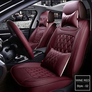 Cubierta de asiento de coche para Audi A3 A4 A5 A6 B6 q7 asientos de automóviles BMW Toyota interior del protector del amortiguador establece Automotive cubiertas del asiento universal