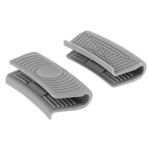 Silicone Heat Insulation Oven Mitt Glove Casserole Ear Pan Pot Holder Resistant Oven Grip Anti-Hot Pot Clip Kitchen Accessories