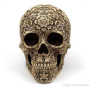 Vente en gros Arresting Crâne en forme Figurine Bar Décoration de Nice Décoration Saving Box Halloween Party artisanat cadeau gratuit bateau