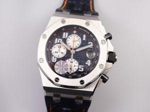 JF 26470 yeni montre DE luxe 42mm kalınlık tasarımcı çapında ve 15.6mm otomatik saatin mekanik hareketi saatler
