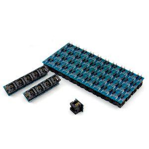 Adaptador SOIC8 SOP8 a DIP8 EZ Socket Converter Módulo Programador Potencia de salida con conector de 150mil SOIC 8 SOP 8 A DIP