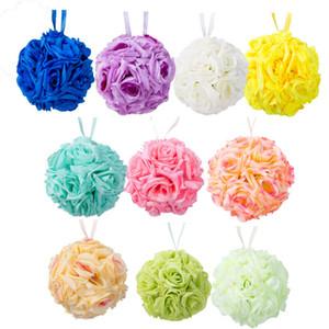Dekor Asma Çiçek Öpüşme Topu Düğün İpek Gül Topu Parti Pomander Parti