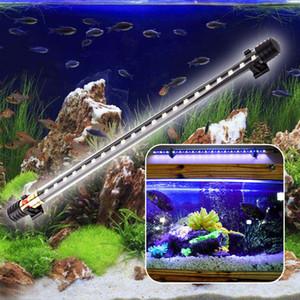 LED Aquarium Light Submersible Fish Tank 2835 LED Barra de la luz Lámpara de luz 18cm / 30cm / 40cm Aquarium Decor Lighting 220V UE Plug