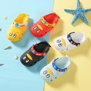 Penguin slippers Children's slippers Cartoon sandals Children 2-6 years old Non-slip Can be worn indoors and outdoors Soft bottom