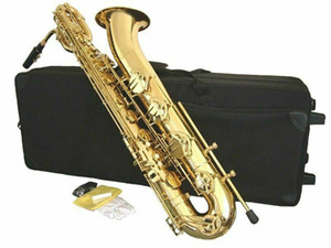 New Arrival YANAGISAWA High Quality Baritone Saxophone Brass Body Gold Lacquer Musical Instruments with Accessories Free Shipping