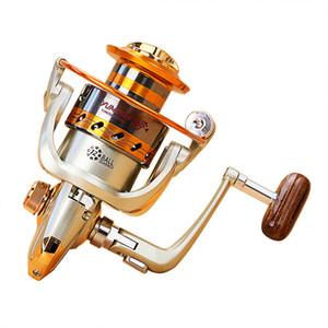 yumoshi spinning mulinelli da pesca ruota jigging mulinelli full metal mulinelli da spinning EF1000 / 4000 Rapporto velocità serie 5.2: 1 ruota da pesca
