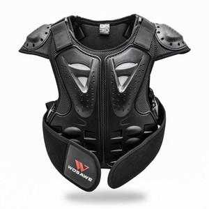 الاطفال صدر ظهر العمود الفقري حامي الترابية دراجة موتوكروس الجسم الحرس الصدرية